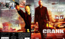 Crank (2006) R2 Swedish Retail DVD Cover + Custom Label