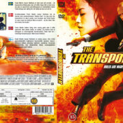 The Transporter (2002) R2 Nordic Retail DVD Cover + Custom Label