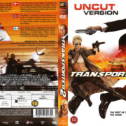 Transporter 2 (2005) R2 Nordic Retail DVD Cover + Custom Label