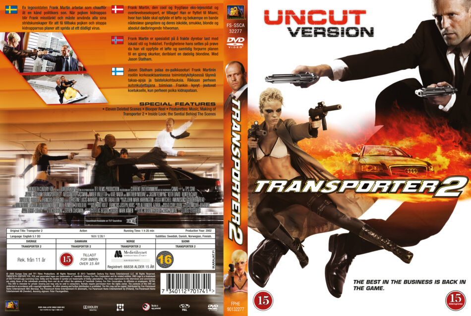 Your Fav Fight Film | Page 3 | MMAjunkie.com MMA Forums |Transporter 2 Dvd Cover