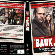 The Bank Job (2008) R2 Swedish Retail DVD Cover + Custom Label