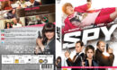 Spy (2015) R2 Nordic Retail DVD Cover + Custom Label