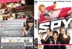 Spy (2015) R2 Nordic Retail DVD Cover + Custom Label