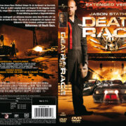 Death Race (2008) R2 Swedish Retail DVD Cover + Custom Label