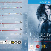 Underworld 1-5 Box (2017) R2 Nordic Retail Blu-Ray Cover