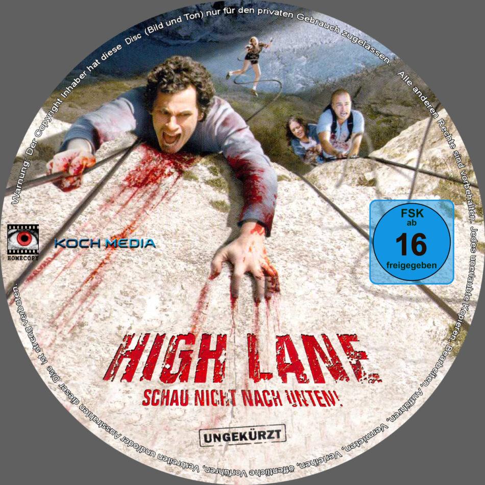Alle Anderen 2009 high lane - schau nicht nach unten dvd label (2009) r2