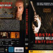 Hostage - Entführt (2005) R2 German Cover & Custom Label