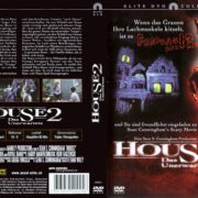 House 2 – Das Unerwartete (1987) R2 German Cover & Label