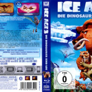 Ice Age – Die Dinosaurier sind los (2009) R2 German Blu-Ray Cover & Label