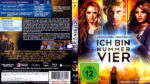 Ich bin Nummer Vier (2011) R2 Blu-Ray Cover & Label