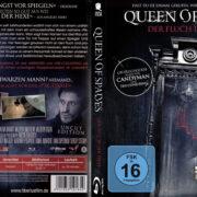 Queen of Spades - Der Fluch der Hexe (2015) R2 German Custom Blu-Ray Cover & Labels