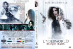 Underworld: Blood Wars (2016) R1 CUSTOM Cover & Label