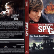 Spy Game (2001) R2 German Blu-Ray Cover & Label