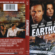Earthquake (1974) R1 Blu-Ray Cover & Label