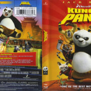Kung Fu Panda (2008) R1 Blu-Ray Cover & Label