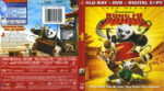 Kung Fu Panda 2 (2011) R1 Blu-Ray Cover & Labels
