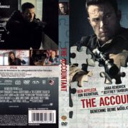 The Accountant (2016) R2 GERMAN Custom DVD Cover