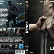 Logan (2017) R2 GERMAN Custom DVD Cover