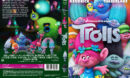 Trolls (2016) R2 Swedish Custom DVD Cover + label