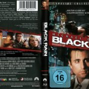 Black Rain (1989) R2 German Blu-Ray Cover & Label