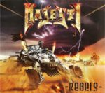 Majesty – Rebels (Limited Edition Digipack) (2017) CD Cover & Label