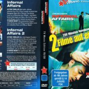 Infernal Affairs 1 & 2 (2003) R2 German Cover & Label