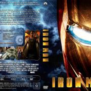 Iron Man (2008) R2 German Custom Cover & label