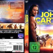 John Carter – Zwischen den Welten (2012) R2 German Cover & Custom Label