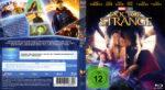 Doctor Strange (2016) R2 German Blu-Ray Cover & Label