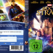 Doctor Strange (2016) R2 German Blu-Ray Cover & Label