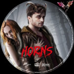 Horns (2013) R2 German Custom Label