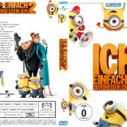 Ich einfach unverbesserlich 2 (2013) R2 German Custom Cover & Label