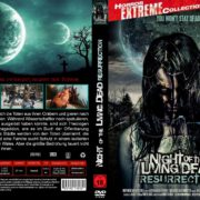 Night of the living Dead Resurrection (2012) R2 GERMAN Custom DVD Cover