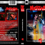 A Nightmare on Elm Street 4 (1988) R2 GERMAN Custom DVD Cover