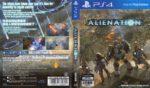Alienation (2016) PS4 Cover & Label
