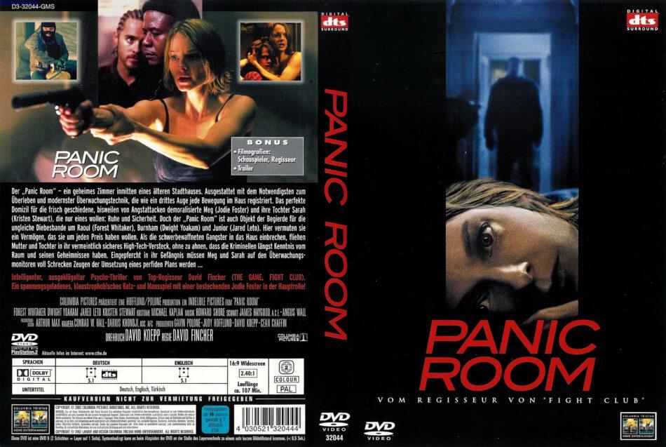 Panic Room Dvd Cover 2002 R2 German