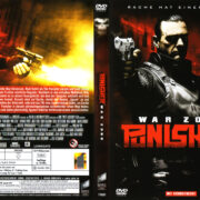 Punisher War Zone (2008) R2 GERMAN DVD Cover