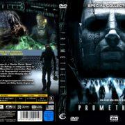 Prometheus - Dunkle Zeichen (2012) R2 GERMAN Custom DVD Cover
