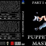 Puppet Master 1+2 (Double Feature) (1991) R2 GERMAN Custom DVD Cover