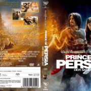 Prince of Persia – Der Sand der Zeit (2010) R2 GERMAN Custom DVD Cover