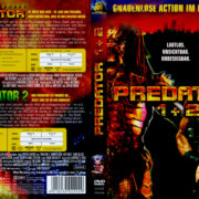 Predator 1+2 (Double Feature) (1990) R2 GERMAN DVD Cover