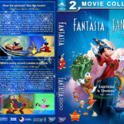 Fantasia Double feature (1940-1999) R1 Custom Cover