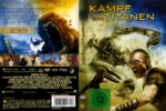 Kampf der Titanen (2010) R2 German Cover & Label
