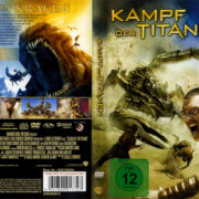 Kampf der Titanen (2010) R2 German Cover & Label
