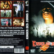 Kinder des Zorns 3 - Das Chicago Massaker (1995) R2 German Cover & Label
