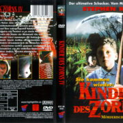 Kinder des Zorns 4 - Mörderischer Kult (1996) R2 German Cover & Label