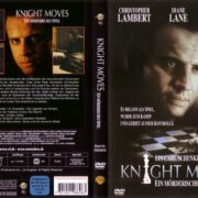 Knight Moves – Ein mörderisches Spiel (1992) R2 German Cover & Label