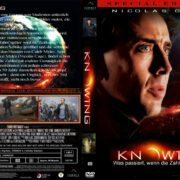 Knowing – Die Zukunft endet jetzt (2009) R2 German Custom Cover & Label