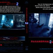 Paranormal Activity 2 (2010) R2 GERMAN DVD Cover