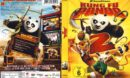 Kung Fu Panda 2 (2011) R2 German Cover & Custom Label